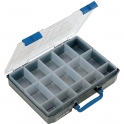 Coffret plastique 15 rangements - RAACO