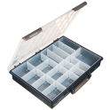 Coffret plastique 17 rangements - RAACO