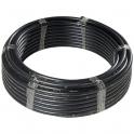 Tuyau PE noir 50 m - Ø 25 mm - non alimentaire - Polypipe