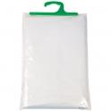 Rideau PVC blanc - sans anneaux - 180 x 200 cm - Sélection Cazabox