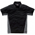 Polo gris / noir - Two tone - Dickies