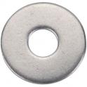 Rondelle plate large inox - Ø 4 mm - Boîte de 200 - Acton