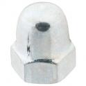 Écrou borgne zingué - Ø 6 mm - Boîte de 100 - Vissal