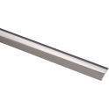 Bande de seuil adhésive - Longueur 0,83 m - Inox poli - Profilpas