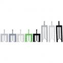 Cale de vitrage noire - 40 x 36 mm - 5 mm - klic-clac -Sachet de 1000 - Goettgens