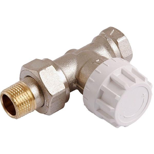 Robinet de radiateur droit thermostatique f 1 2 senso - Changer robinet thermostatique radiateur ...
