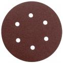 Disque papier auto-agrippant 6 trous - Ø150 mm - Grain 40 - Lot de 5 - SCID