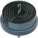 Scie cloche multi lames - 50 mm - Ø 25 à 63 mm - SCID