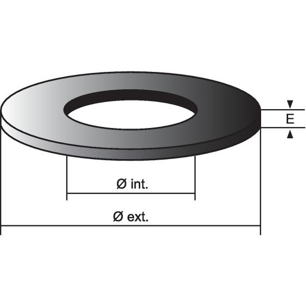 joint de soupape 70 x 25 x 4 mm nord picardie joints. Black Bedroom Furniture Sets. Home Design Ideas