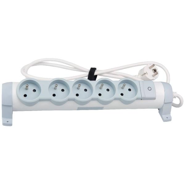bloc 5 prises rotatif avec interrupteur legrand cazabox. Black Bedroom Furniture Sets. Home Design Ideas