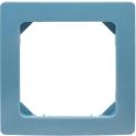 Plaque décor Bleu lagon - 1 poste - Liberty - Dhome
