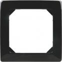 Plaque décor Noire - 1 poste - Liberty - Dhome