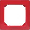 Plaque décor Rouge - 1 poste - Liberty - Dhome