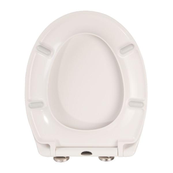 Wc blanc meilleures images d 39 inspiration pour votre design de maison - Abattant wc noir et blanc ...