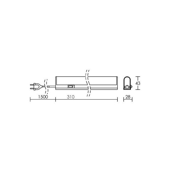 R glette tube fluorescent 8 w halolite t5 aric cazabox for Garage pret a poser