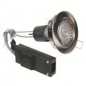 Kit spot LED nickel encastré orientable - 2700 K - Galaxy LED - Aric