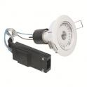 Kit spot LED blanc encastré orientable - 2700 K - Galaxy LED - Aric