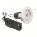 Kit spot LED blanc encastré orientable - 4000 K - Galaxy LED - Aric