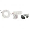 Kit spot halogène blanc encastré - Pour faux plafond - Hidro - Aric