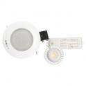 Kit spot LED Blanc encastré - Pour faux plafond - Classo LED - Aric