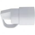 Fiche blanche femelle 2P+T - À anneau - Dhome