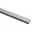 Plinthe aluminium à brosse souple - 1 m - Bas de porte - ADS-B - Ellen