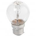 Ampoule Sphérique - B22 - 20 W - 2800 K - Dhome