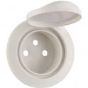 Enjoliveur à volet blanc - Prise 2P+T - IP 44 - Céliane - Legrand