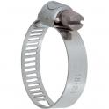 Collier bande perforée W2 inox /acier zingué - 8 mm - Serrage 18 - 28 mm - Boîte de 50 pièces - Ace