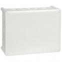 Boîte grise rectangulaire - 220 x 170 mm - 24 embouts - Presse étoupe - Plexo - Legrand