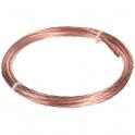 Câble de terre cuivre nu - 25 mm² - Couronne de 50 m - Sermes