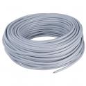 Câble souple domestique H05 VV-F gris - 3G0,75 mm² - Couronne de 50 m - Lynelec