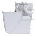 Angle plat 90° - Pour goulotte 35 x 105 mm - Couvercle 85 mm - DLP monobloc - Legrand