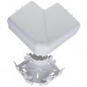 Angle plat 90° - Pour goulotte 50 x 105 mm - Couvercle 85 mm - DLP monobloc - Legrand