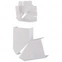 Angle plat variable - Pour moulure 75 x 20 mm - DLPlus - Legrand