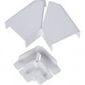 Angle plat variable - Pour moulure 40 x 16 mm - DLPlus - Legrand