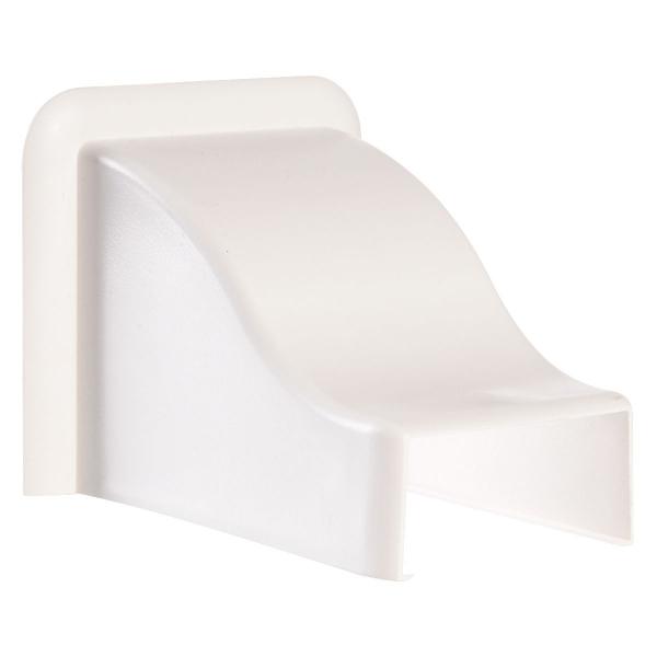 sortie de plafond pour goulotte 60 x 40 mm viadis. Black Bedroom Furniture Sets. Home Design Ideas