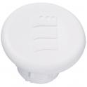 Bouchon plastique blanc - Ø 9,3 mm - Pour paumelle universelles - Vendu par 24 - Monin