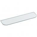 Tablette de lavabo en verre - 600 mm - Pellet ASC