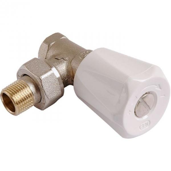 Robinet de radiateur querre visser f 3 4 simple - Changer robinet thermostatique radiateur ...
