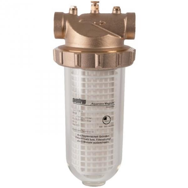 filtre eau avec cartouche 11m h f 2 aquanova magnum oventrop cazabox. Black Bedroom Furniture Sets. Home Design Ideas