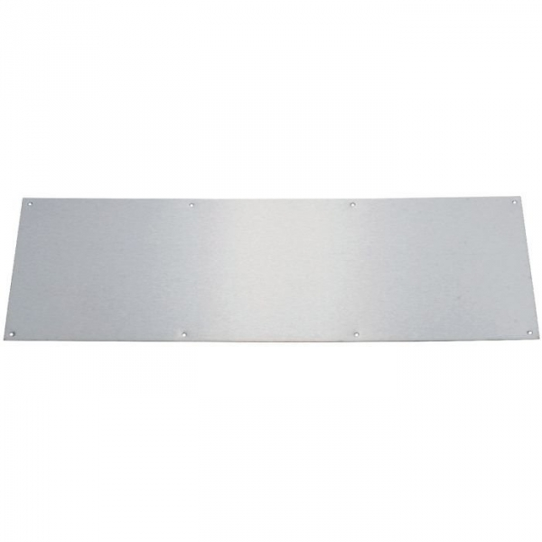 Plaque de propret inox brillant rectangulaire 830 x for Plaque de metal adhesive