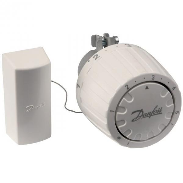 T te thermostatique de radiateur 34 mm bulbe for Tete de radiateur thermostatique