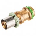 Adaptateur multicouche / cuivre droit Réduit à sertir - Femelle - Ø 16 - 18 mm - Comap