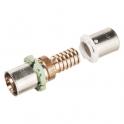 Adaptateur multicouche / PER droit à sertir - Femelle - Ø 20 mm - Comap