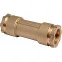Raccord PE de réparation droit à serrage - Femelle - Ø 50 mm - Rexuo - Huot