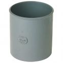 Raccord de réparation PVC gris - Ø 40 mm - Nicoll