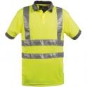 Polo jaune haute visibilité - Dickies