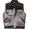 Gilet noir / gris de travail - Industry300 - Dickies