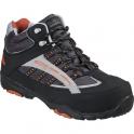 Chaussure de sécurité haute noire / orange - Hillite - Coverguard footwear